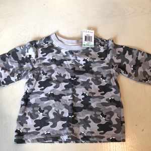 NWT Baby Camo Fox Shirt